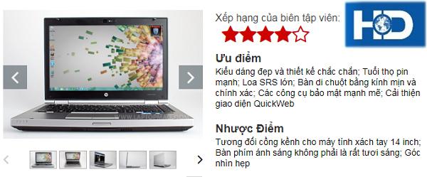 Đánh giá toàn bộ HP EliteBook 8460p | Laptop HP cũ