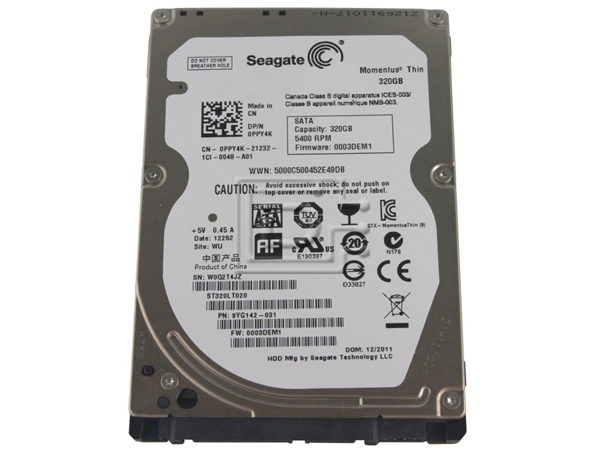 Ổ Cứng laptop seagate 320gb